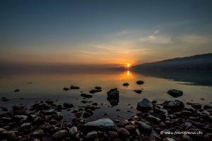 frühmorgens am Bodensee eine wunderschöne Stimmung